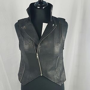NWT Urban Outfitters Bycorpus Faux Leather Vest